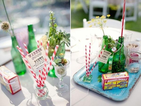 green glass wedding